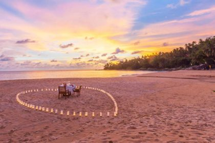 romantic beach dinner, Phuket Dinner